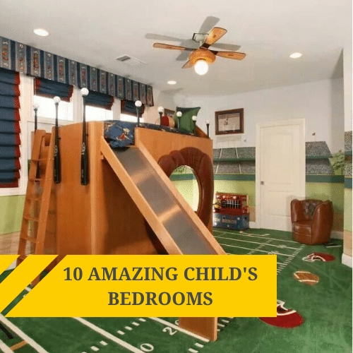 10 amazing child's bedroom
