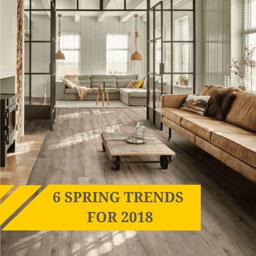 6 spring trends for 2018