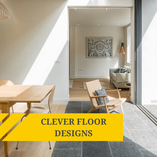Clever Floor Designs: Bringing the Outside In