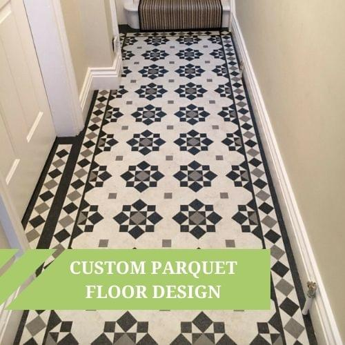Fabulous Custom Parquet Floor Design using Moduleo Transform