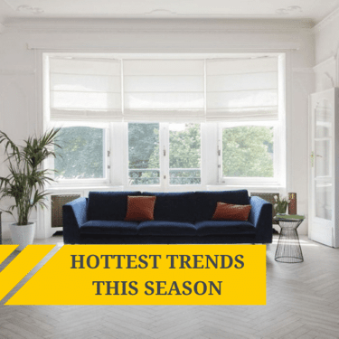 The hottest interior trends for this season