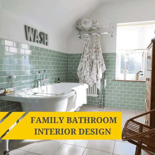 Interior Design Ideas For The Family Bathroom