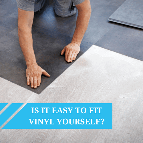 I've not laid vinyl before – is it easy?