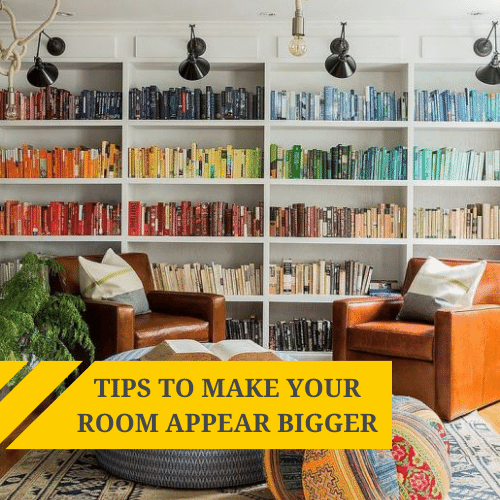 Tips to Make your Room Appear Bigger