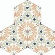 Bohemia Hexagon Wall and Floor Tiles - Hanna