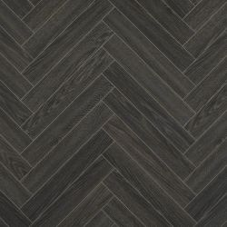 berry alloc chateau herringbone style laminate flooring in charcoal with 4v bevelled edges charme black