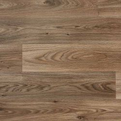 Dark Oak Wood Effect Vinyl Flooring Sheet For Dining Rooms, Kitchens And Hallways
