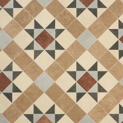 Tessellated Victorian Geometric Vinyl Flooring - ERA Brindley
