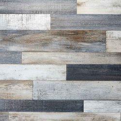 Metallic Wood Effect Cushioned Vinyl Flooring Sheet Bronzed Oak
