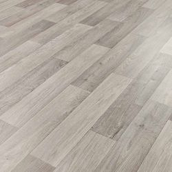 Wood Effect Cushioned Vinyl Flooring Sheet Camargue 572
