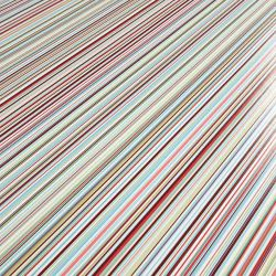 Candy Stripe Cushioned Vinyl Flooring Sheet For Hallways And Bathrooms