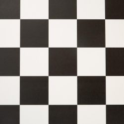 Fusion Cushioned Vinyl Dublin 599 Chequerboard Flooring
