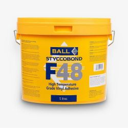 F48 vinyl flooring adhesive in 5L tub