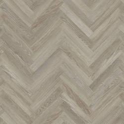 Knight Tile Parquet Effect Luxury Vinyl Flooring In Medium Grey Wood Effect Design For Kitchens And Hallways Sm-Kp138