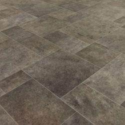 Manor House Bitterne Stone Tile Cushioned Vinyl Flooring