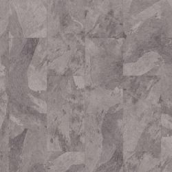 Light Grey Slate Design Vinyl Flooring Tiles Mustang Slate 70928 For Kitchens And Bathrooms