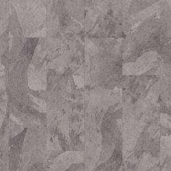 Light Grey Slate Design Vinyl Flooring Tiles Mustang Slate 70928 For Kitchens And Bathrooms