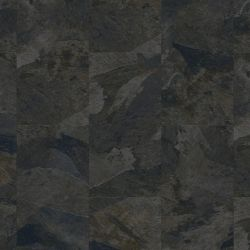 Natural Slate Tile Design Vinyl Flooring Tiles With Bevelled Edges Moduleo Impress Mustang Slate 70968