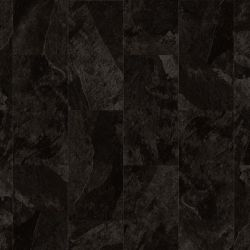 Black Slate Tile Effect Click Vinyl Floor Tiles With Textured Surface Finish Moduleo Impress Mustang Slate 70998