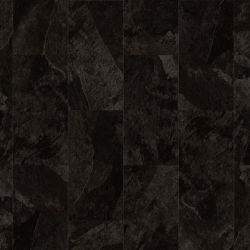 Black Mustang Slate Rectangle Lvt Tile In Glue Down Format For Kitchens And Bathroom Impress 70998