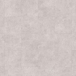 Grey Tile Effect Vinyl Flooring With Underlay Attached For Use In Residential Homes Venetian Stone 46931Lr
