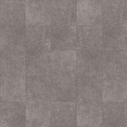 Plain Grey Click Vinyl Flooring Tiles That Are Water Resistant And Hard Wearing Cantera 46930