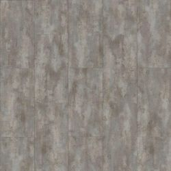 Grey Stone Effect Click Lock Vinyl Flooring Tiles With Washed Look Concrete 40945