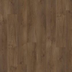 Dark Wood Effect Dryback Vinyl Flooring Planks With Bevelled Edges Sherman Oak 22841