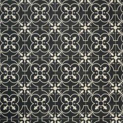 Georgian Tile Cushion Vinyl Flooring Sheet Nostalgia 10