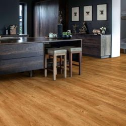 wood effect dryback lvt in warm oak design for residential and commercial use