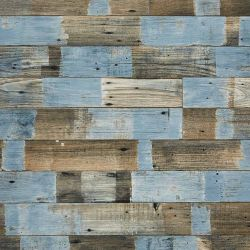 Cushion Vinyl Flooring Sheet Ocean Painted Wood