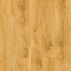 Warm Oak Design Click Vinyl Floor Planks With Locking System And 4V Grooves Classic Oak Natural Bacl40023