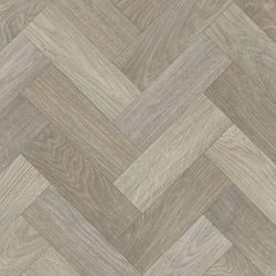 grey herringbone sheet vinyl flooring with foam backing for hallways and dining rooms