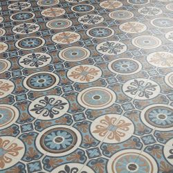 patterned cushion sheet vinyl flooring moroccan design tangier 05