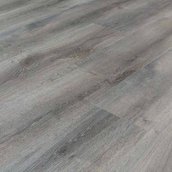 grey water resistant vinyl flooring planks that click together for diy use in kitchens and bathrooms smoked cypress
