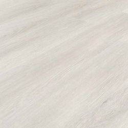 light grey and white wood effect click lvt flooring with underlay attached sugared timber