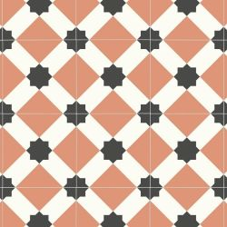 Victorian Star Design Sheet Vinyl Flooring Herschel