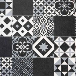 Cushion Vinyl Flooring Vintage Tile Vivre 90
