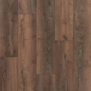 rustic dark wood effect laminate flooring with v groove edges for kitchens, hallways and living rooms berry alloc cadenza legato dark brown k1713