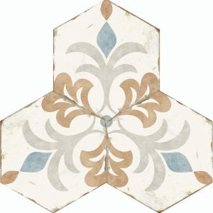 Bohemia Hexagon Wall and Floor Tiles - Lola