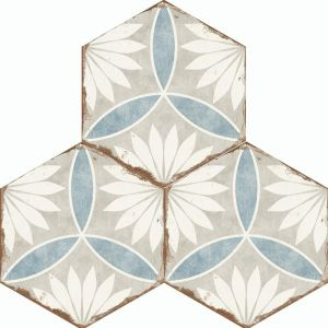 Bohemia Hexagon Wall and Floor Tiles - Margarita