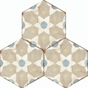 Bohemia Hexagon Wall and Floor Tiles - Selena