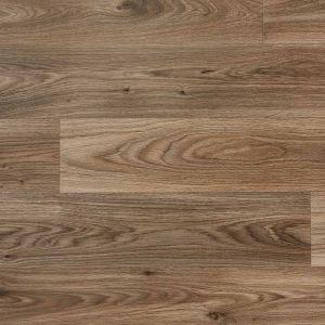 Dark Oak Wood Effect Vinyl Flooring Sheet For Dining Rooms, Kitchens And Hallways