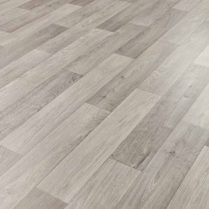 Wood Effect Cushioned Vinyl Flooring Sheet Camargue 572