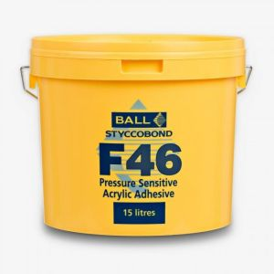 Pressure Sensitive Adhesive In 15 Litre Size By Ball And Young F46