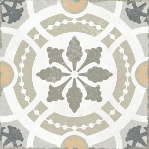 Lustre Effect 20 X 20 Porcelain Wall And Floor Tiles In Antique Shabby Chic Design Bahia