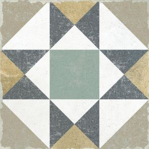 Gabana Kenitra Green And Blue Victorian Wall And Floor Tiles For Kitchens And Bathrooms