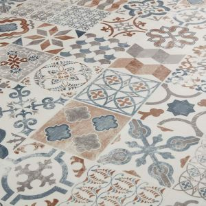 Antique Cushioned Vinyl Flooring- Gustavian 05