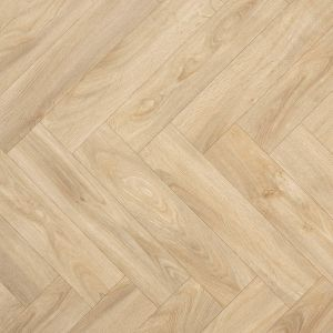 Hampton Parquet French Herringbone Effect Cushioned Vinyl For Residential Homes