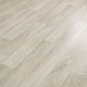 Light Grey Oak Design Vinyl Flooring Sheet Lino Ingleton